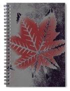 Castor Leaf Spiral Notebook