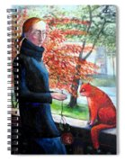 Casual Fling Spiral Notebook