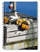 Casual Scene Spiral Notebook