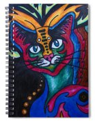 Cat 2 Spiral Notebook