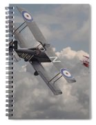 Cat Among The Pigeons Spiral Notebook