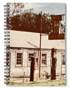 Cat Cabins And Gas Station Spiral Notebook