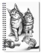 Cat Chips  Spiral Notebook