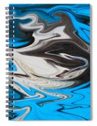 Abstract Cat Fish Spiral Notebook