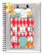 Cat House Spiral Notebook