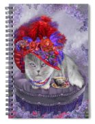 Cat In The Red Hat Spiral Notebook