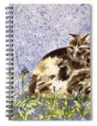 Cat Mint Wc On Paper Spiral Notebook