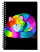 Cat Napping 2 Spiral Notebook