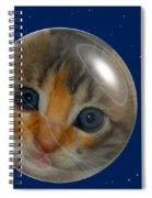 Cat Planet Spiral Notebook