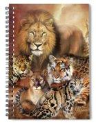 Cat Power Spiral Notebook