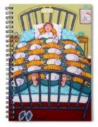 Cat Quilt Spiral Notebook