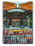 Catal Outdoor Cafe Downtown Disneyland 01 Spiral Notebook