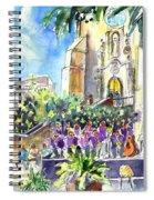 Catalonia Day In Llansa Spiral Notebook