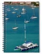 Catamaran  St Thomas Usvi Spiral Notebook