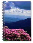 Catawba Rhododendron In Bloom, Yellow Spiral Notebook