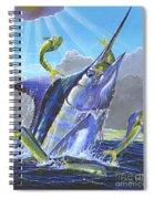 Catch Em Up Off0029 Spiral Notebook