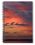 Catch The Cloud Wave Spiral Notebook