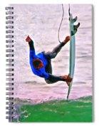 Catching Air Spiral Notebook