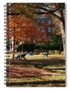Catching Rays - Davidson College Spiral Notebook