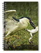 Catching Supper Spiral Notebook