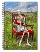 Catching Up On Human Anatomy And Physiology Spiral Notebook