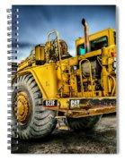 Caterpillar Cat 623f Scraper Spiral Notebook
