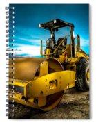 Caterpillar Cat Roller Cs563e Spiral Notebook