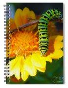 Caterpillar On The Prowl Spiral Notebook