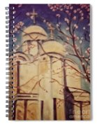 Cathedral At Springtime Spiral Notebook