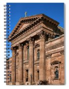 Cathedral Basilica Of Saints Peter And Paul Spiral Notebook