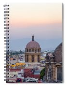 Cathedral Dome And City Spiral Notebook