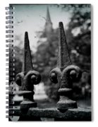 Cathedral Fence Spiral Notebook