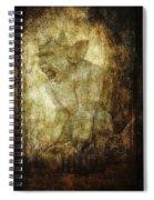 Cathedral Gargoyle Spiral Notebook