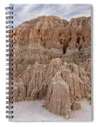 Cathedral Gorge Morning Spiral Notebook