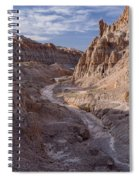 Cathedral Gorge Wash Spiral Notebook