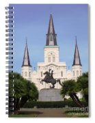 Cathedral In Jackson Square Spiral Notebook