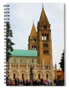 Cathedral In Pecs Spiral Notebook