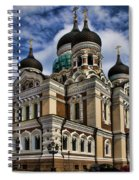 Cathedral In Tallinn Spiral Notebook