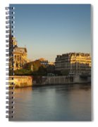 Cathedral Notre Dame - Sunrise Spiral Notebook