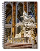 Cathedral Of Chartres Altar Spiral Notebook