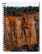 Cathedral Of God Spiral Notebook