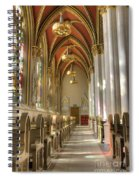 Cathedral Of Saint Helena Spiral Notebook