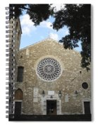 Cathedral Of San Giusto Spiral Notebook