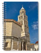 Cathedral Of Split Diocletian Palace Spiral Notebook