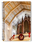 Cathedral Organ Spiral Notebook