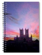Cathedral Pass  Spiral Notebook
