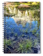 Cathedral Reflection Spiral Notebook
