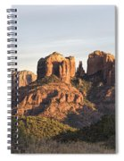 Cathedral Rock At Sunset Spiral Notebook