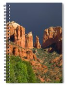 Cathedral Rock Before The Storm Spiral Notebook