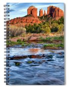 Cathedral Rock II Spiral Notebook
